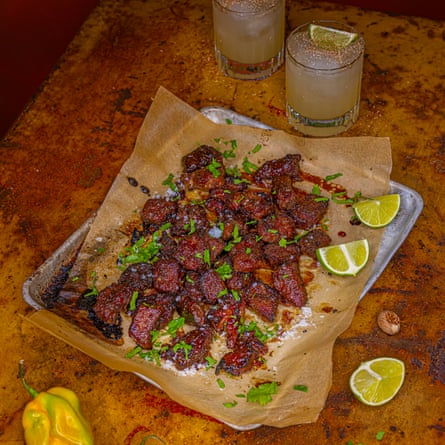 Jerk Pork Bites.
