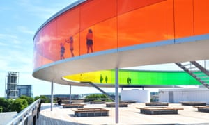 Doing the rounds: the colourful Aarhus Kunstmuseum.