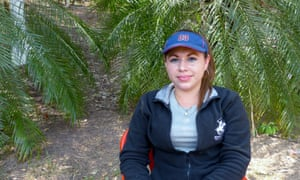 Mariela Hernandez, 27, a health adviser for pregnant teenagers and adolescent mothers in El Paisnal.
