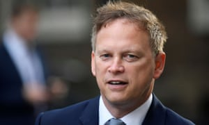 UK transport secretary, Grant Shapps