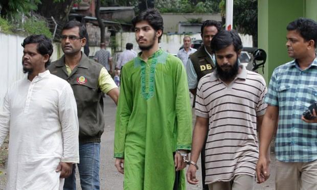 Bangladesh police escort members of ABT