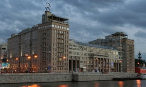 The House of Government in Moscow … 'a place where the revolution came to die'.