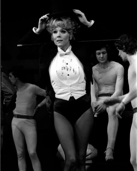 Rehearsing in the part of Dottie for Tom Stoppard's Jumpers at the Old Vic, 1999