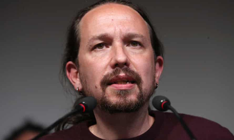Unidas Podemos' candidate to Madrid' regional elections and former Spanish Vice President Pablo Iglesias
