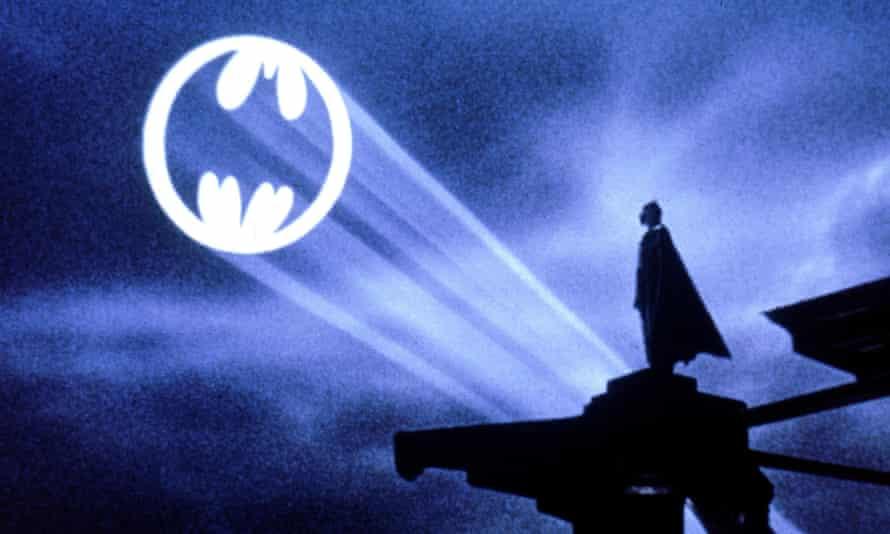 Nowadays we'd use WhatsApp … Michael Keaton in Batman.