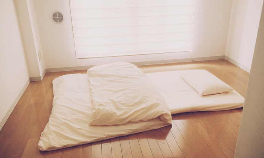 'This is what the place looks like when I sleep.'