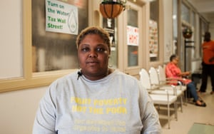 June 28, 2017: Nicole Hill had her water shut off in 2014. She now works with the Michigan Welfare Rights Organization.