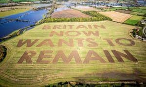 The Led By Donkeys Brexit message in Wiltshire.