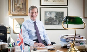 Dominic Grieve … flying the flag for a soft Brexit.