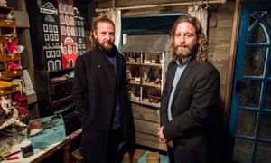 Felix Barrett, left, and Peter Higgin from Punchdrunk.