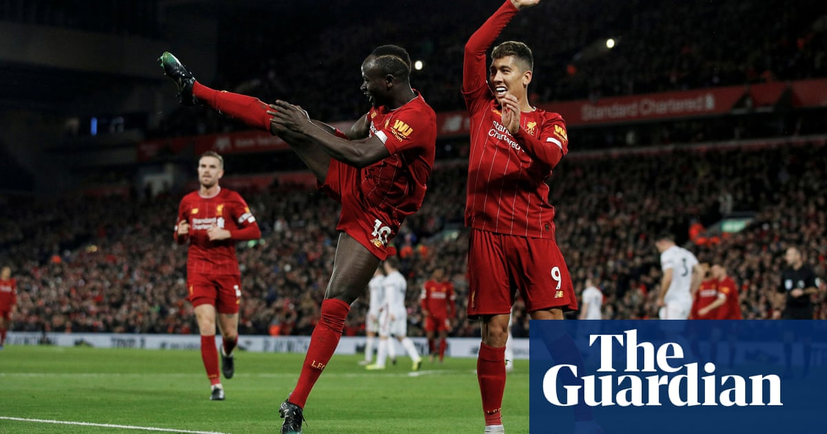 Game by game: Liverpools title-winning season in pictures