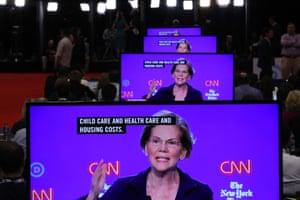 Elizabeth Warren held her own against plenty of heat from fellow debaters at Tuesday night.