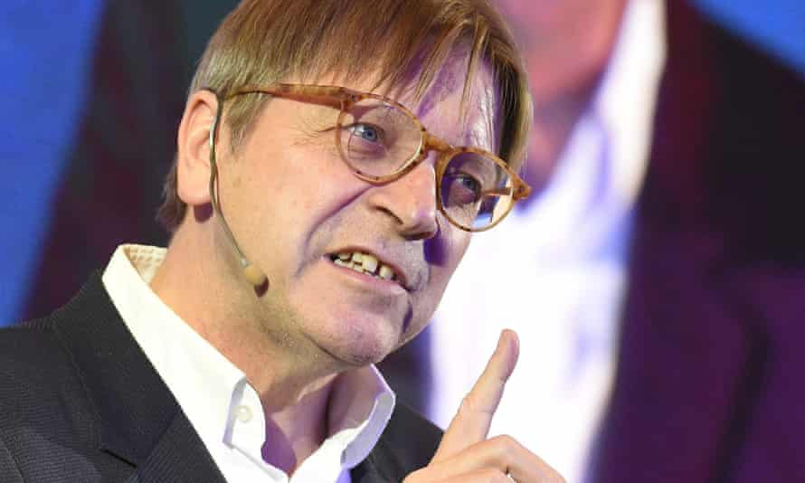 """Guy Verhofstadt, the European parliament's representative on Brexit, promised last week to ensure that associate citizenship for Britons """"was on the table"""" during the UK's EU exit talks."""