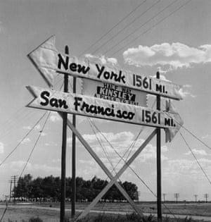 Todd Webb: Half Way, Kinsley, Kansas, 1955