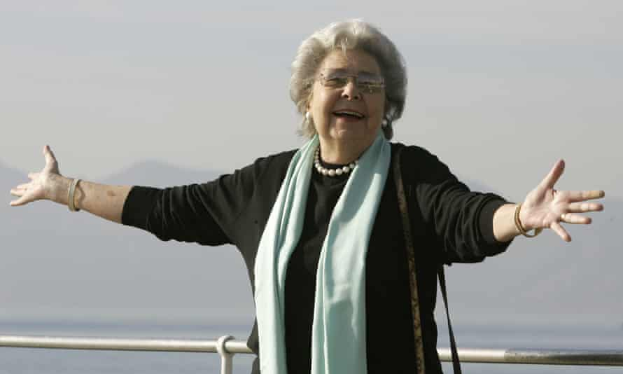 Christa Ludwig in Cannes, south of France, in 2008.
