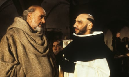 Sean Connery and F Murray Abraham in the film version of The Name of the Rose.
