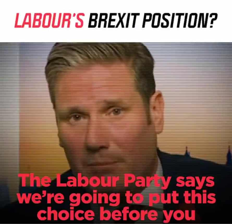 The Conservatives campaign video featuring Keir Starmer.