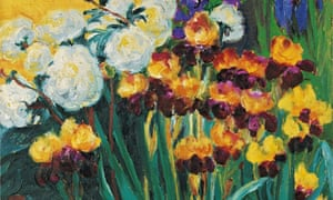 Emil Nolde's Peonies and Irises (1936)