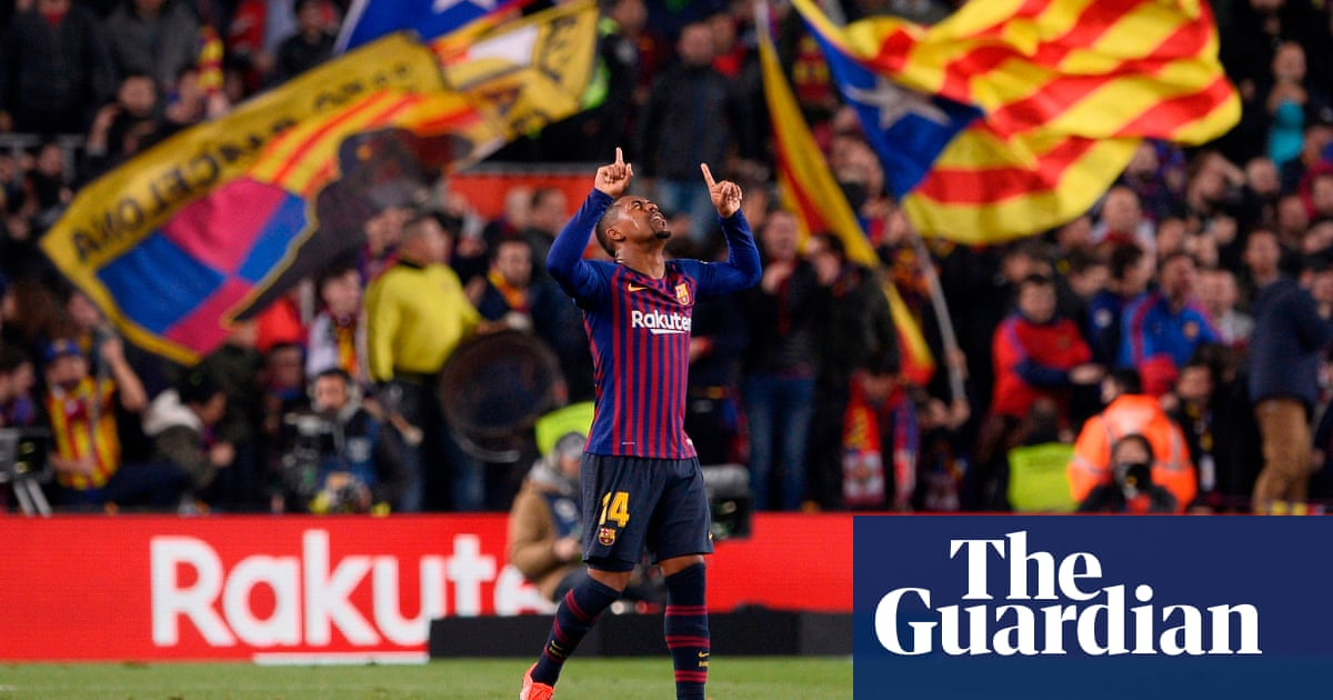 Barcelona s Malcom scores against Real Madrid to leave semi-final in the  balance fce8e6b42ab