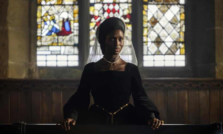 Jodie Turner-Smith in Anne Boleyn.