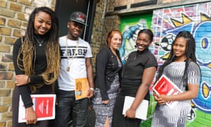 Young people at The Money House, the housing category winner of the Public Service Awards 2016