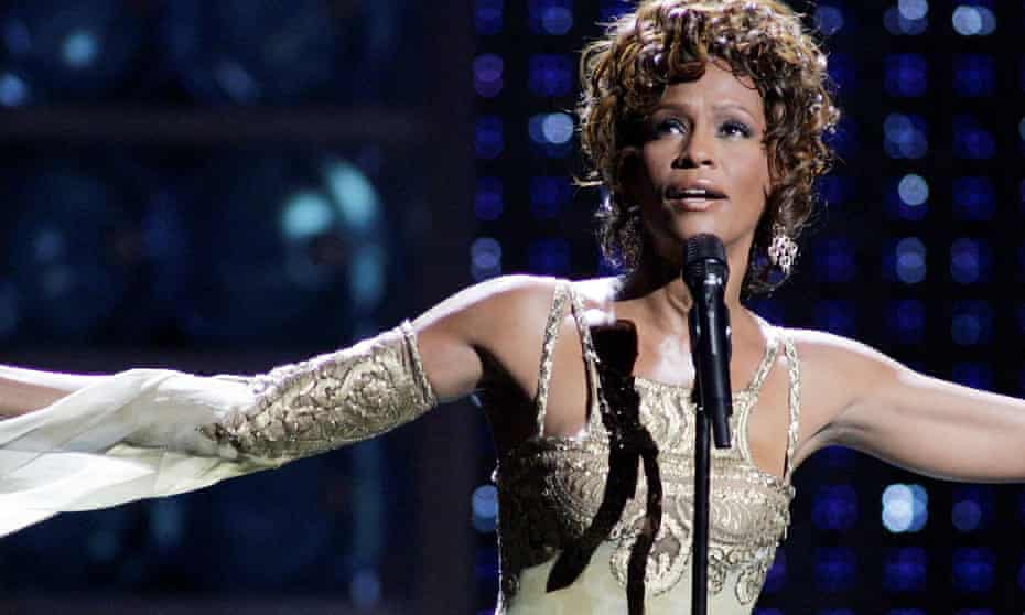 Whitney Houston at the World Music awards in 2004.