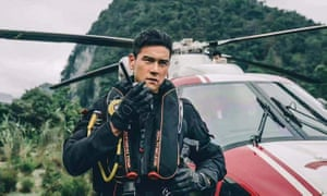 Young blade … Eddie Peng in The Rescue.