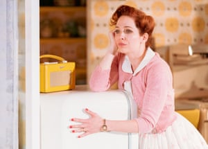 Katherine Parkinson as Judy in Home, I'm Darling.