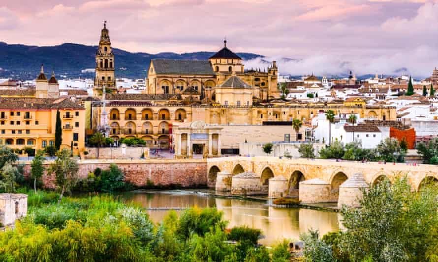 The Guadalquivir River in Córdoba, Andalusia.