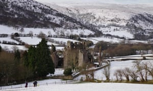 Llanthony Priory and Offa's Dyke