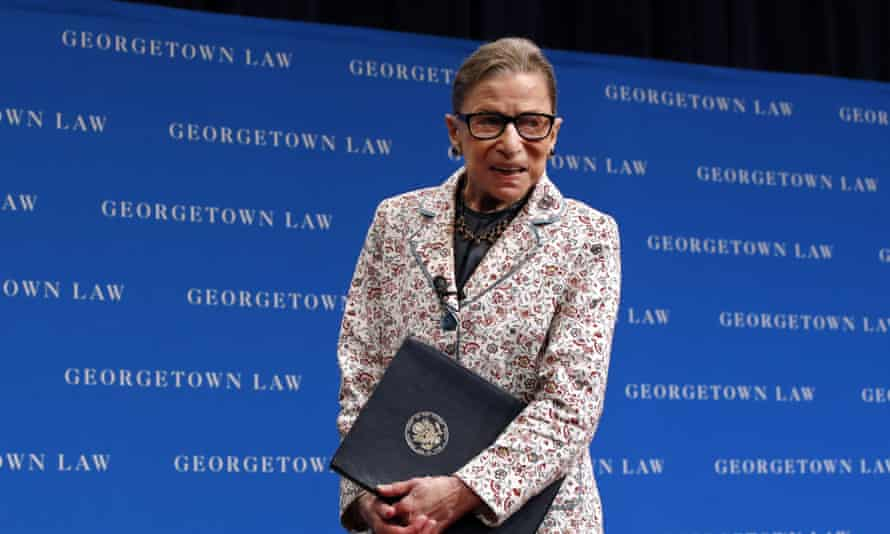 Ruth Bader Ginsburg is one of the leading liberal figures on the US supreme court.