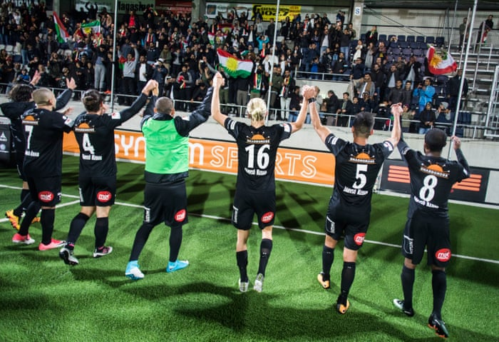 The remarkable rise of Dalkurd: a Kurdish club on verge of