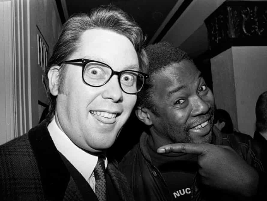 Fadele with Vic Reeves.
