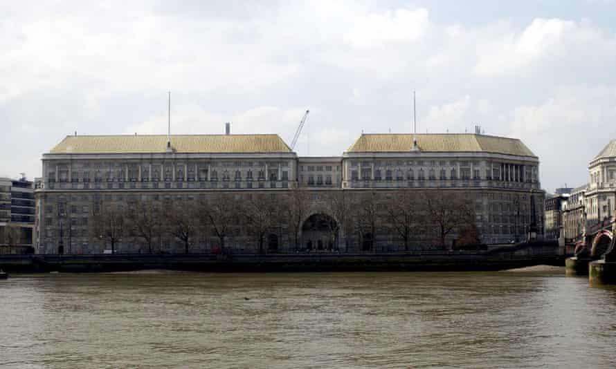 MI5 headquarters on London's Millbank.