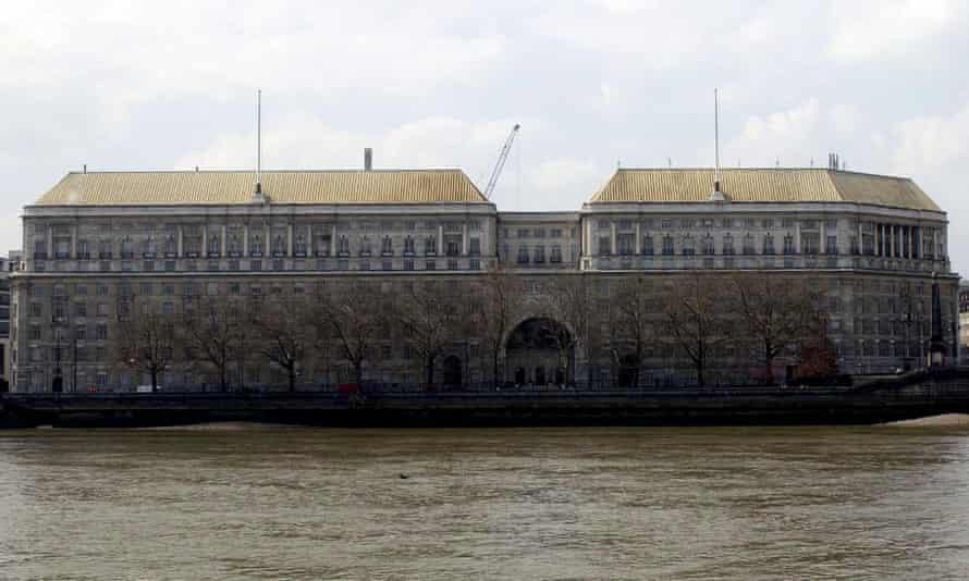 MI5 building on London's Millbank