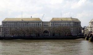 The MI5 building on Millbank, in London.