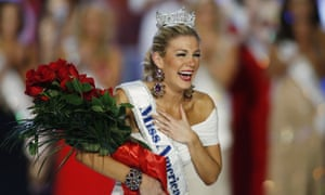 Mallory Hagan win Miss America in 2013. Her appearance was later mocked by officials.