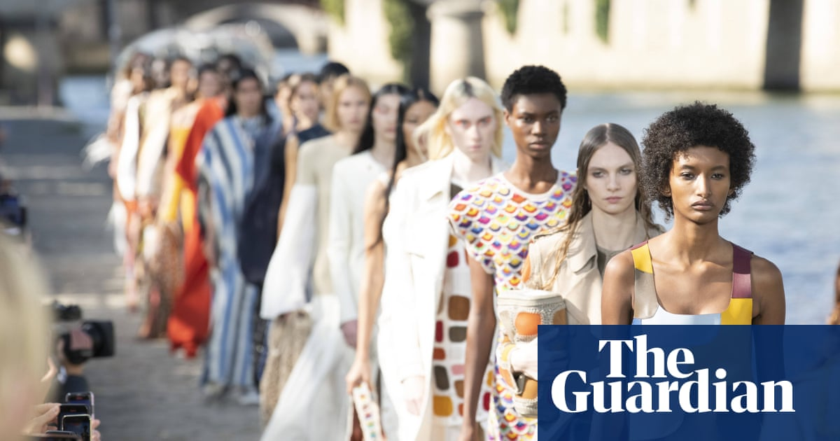 'Innately low-impact': Chloé brings eco-chic to Paris fashion week