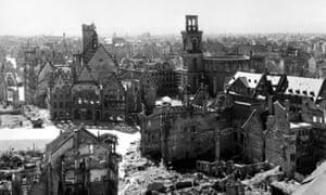 Frankfurt, Germany, in 1945