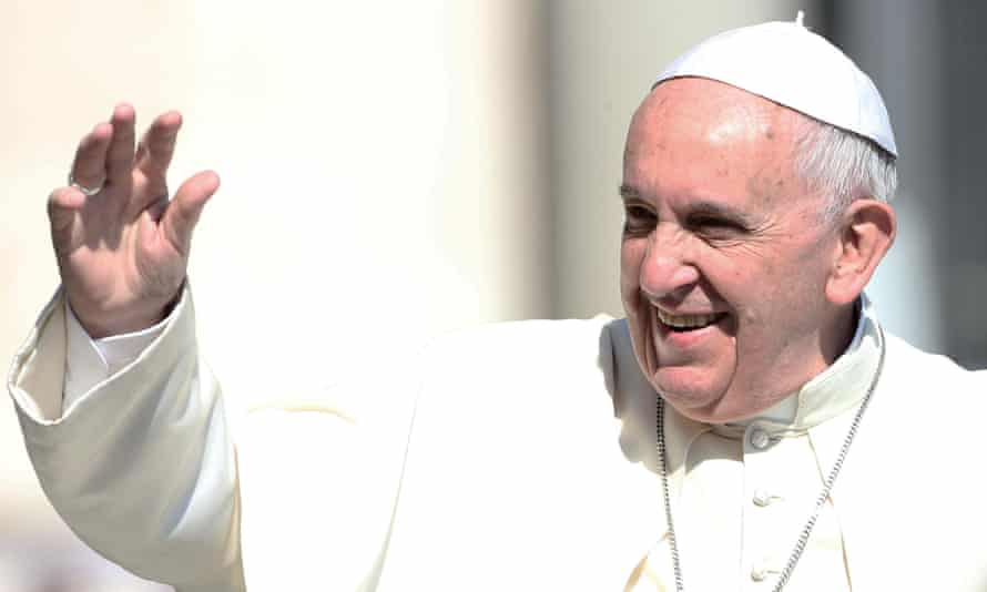 Pope Francis is due to meet Russia's president, Vladimir Putin, on Wednesday.