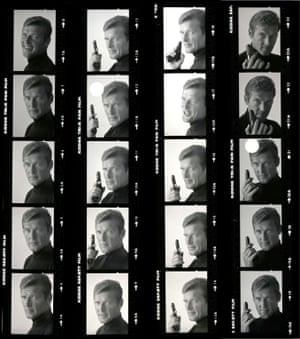 Bond contact sheet 005 of Roger Moore for 'Live and Let Die' 1972