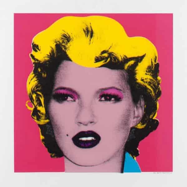 Banksy's Kate Moss artwork