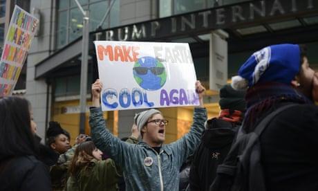 The climate change battle dividing Trump's America