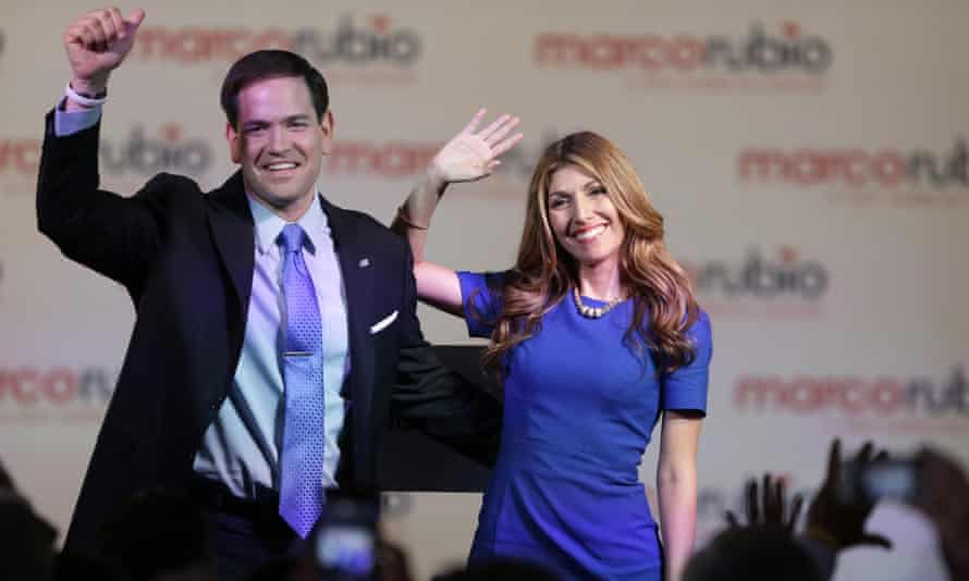 Marco Rubio and wife