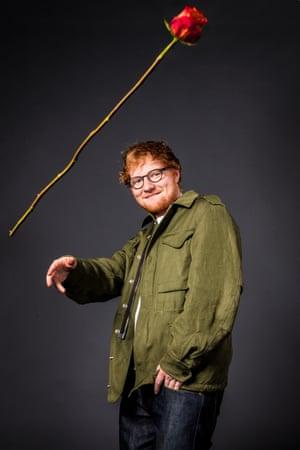 Singer Ed Sheeran by David Levene
