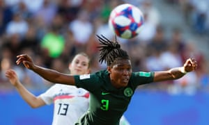 Osinachi Ohale and her Nigeria teammates did well to progress from a tough group.