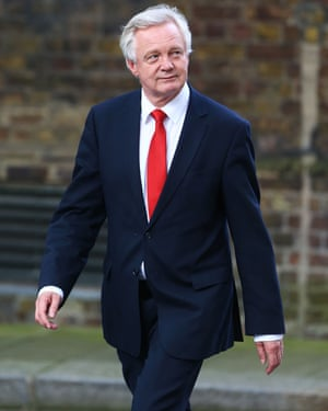 David Davis, who was once charged with steering the vote for the Maastricht treaty, is now on the other side of the fence as Brexit minister.