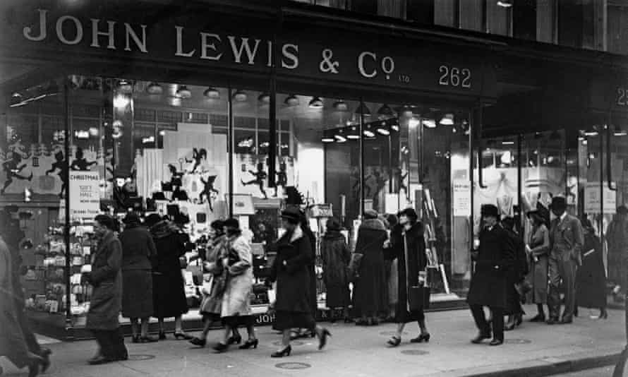Christmas at John Lewis & Co on Oxford Street, London, in late 1936.