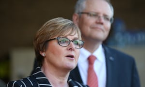 Linda Reynolds and Scott Morrison