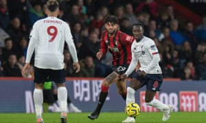 Liverpool's Naby Keïta was back to his best in the 3-0 victory at Bournemouth.